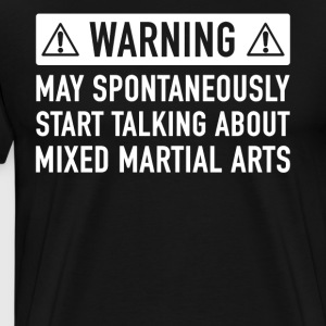 Funny Mixed Martial Arts Gift Idea - Koszulka męska Premium