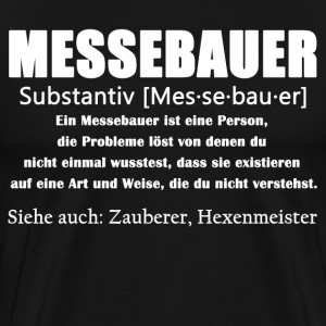 Messebauer Definition Shirt - Männer Premium T-Shirt