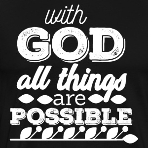 God - Everything is - Men's Premium T-Shirt