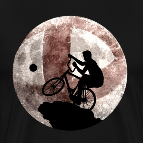 Radball | Cycle Ball Moon - Männer Premium T-Shirt