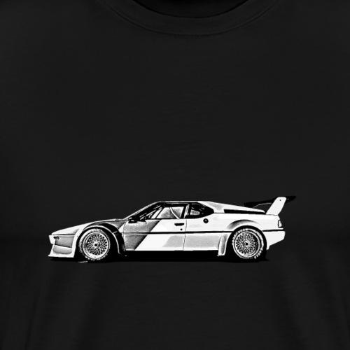 M1 Seitenansicht - Männer Premium T-Shirt