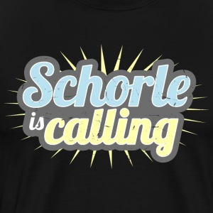 Schorle is calling - Men's Premium T-Shirt