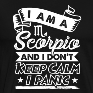 Scorpio Star Sign - Men's Premium T-Shirt