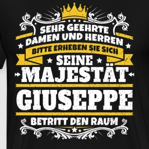 His Majesty Giuseppe - Men's Premium T-Shirt