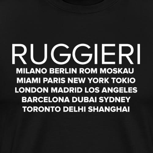 RUGGIERI WORLDWIDE - Männer Premium T-Shirt