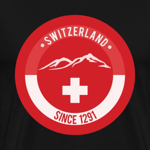 Switzerland since 1291 - Männer Premium T-Shirt