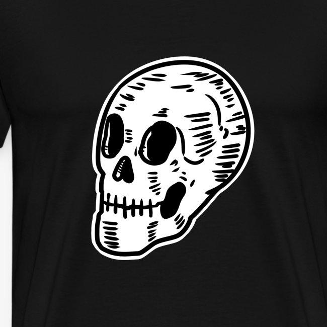 Shirtmeup Skull Skull Pirate Tattoo Death Dead Gift Mens