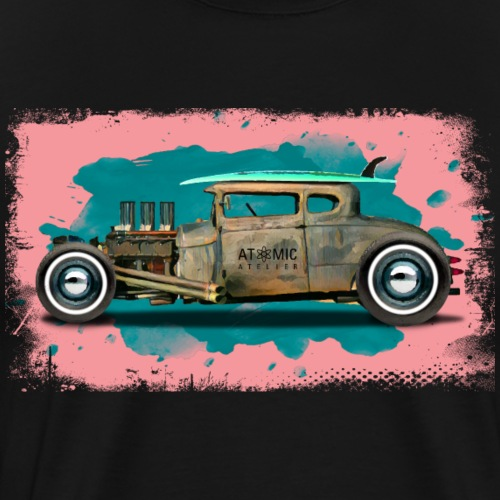 Hot Rod Surf - Men's Premium T-Shirt