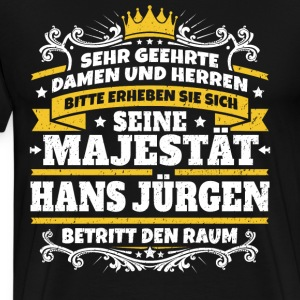 His Majesty Hans Jürgen - Men's Premium T-Shirt