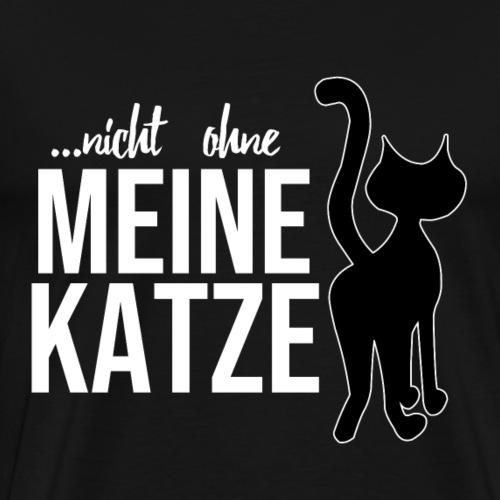 Katzenshirt - Katze - Geschenk - Männer Premium T-Shirt