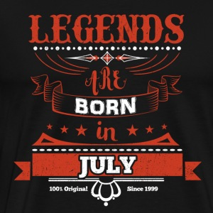 Legends are born in July birthday gift - Men's Premium T-Shirt