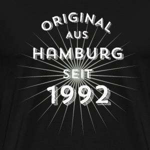 Original from Hamburg since 1992 - Men's Premium T-Shirt