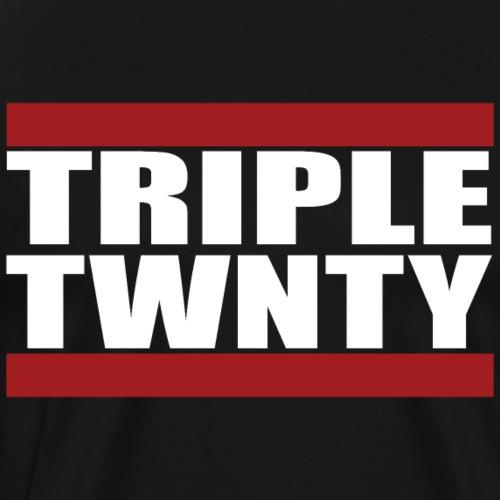Run TripleTwenty - Dark - Männer Premium T-Shirt