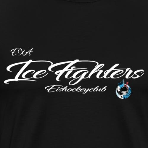 EXA IceFighters Eishockeyclub weiß - Männer Premium T-Shirt