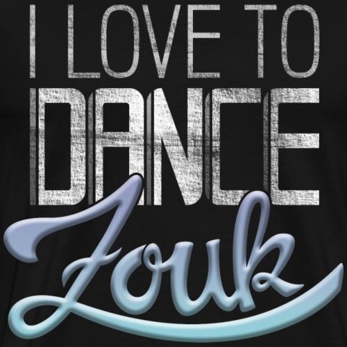 Dance Zouk - Männer Premium T-Shirt