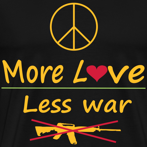 Peace for the world - Männer Premium T-Shirt
