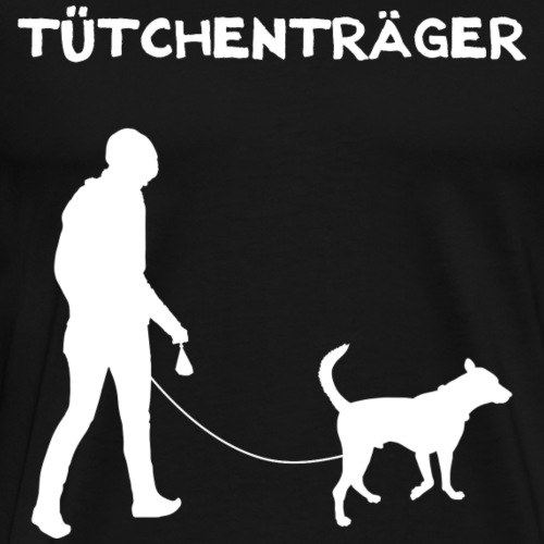 Tütchenträger - Männer Premium T-Shirt