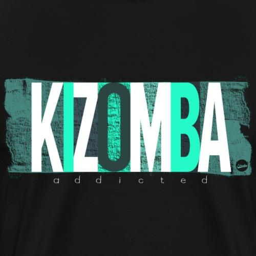 Kizomba addicted -w- - Männer Premium T-Shirt