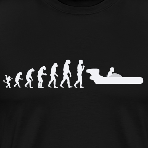 Evolution de l'homme : S Wars Landspeeder - T-shirt Premium Homme