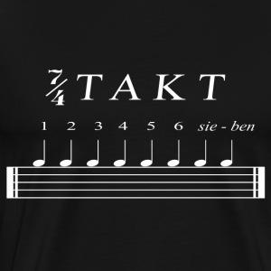 Sieben Viertel Takt - Männer Premium T-Shirt