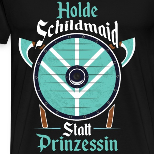 Holde Schildmaid - Männer Premium T-Shirt
