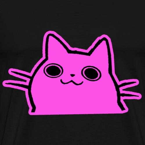 Pinkes Kätzchen - Männer Premium T-Shirt