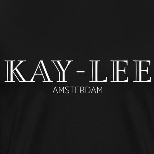 Kay-Lee de Sanders - Wit - Mannen Premium T-shirt