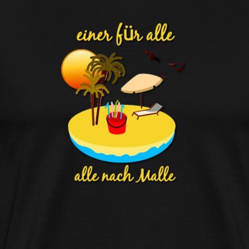 Male für alle - Männer Premium T-Shirt