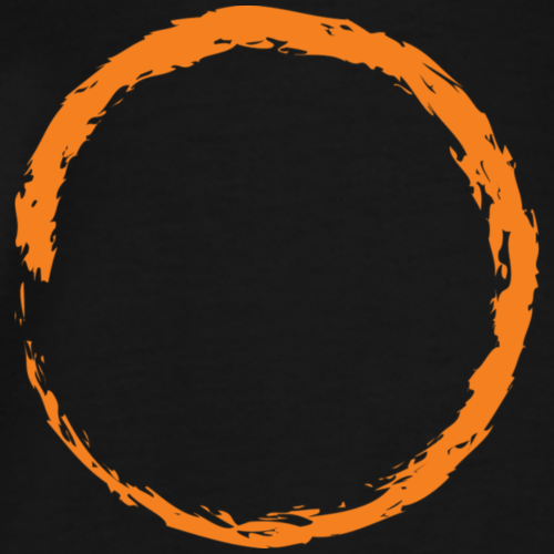 Infinity Orange - Männer Premium T-Shirt