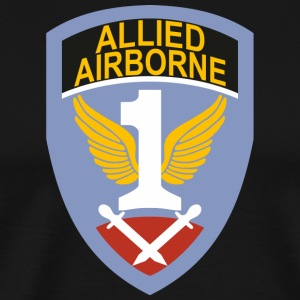 First Allied Airborne Army - Herre premium T-shirt