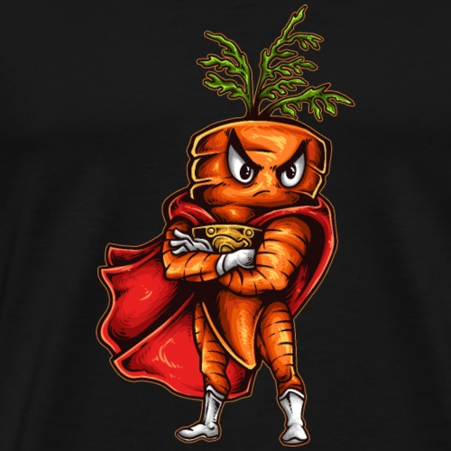 Super Karotte - Männer Premium T-Shirt