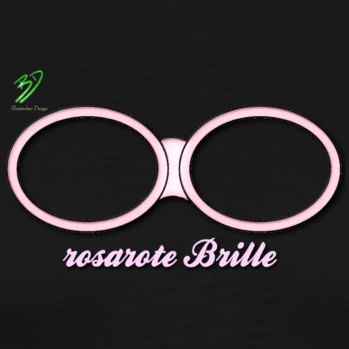 rosarote Brille - Männer Premium T-Shirt