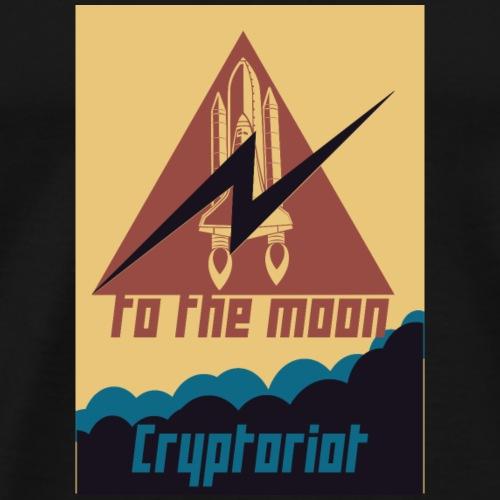 Cryptoriot - Männer Premium T-Shirt