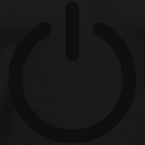 on button eco-friendly - Men's Premium T-Shirt