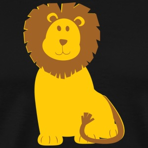 Yellow lion - Männer Premium T-Shirt
