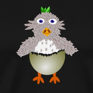 chicken177 - Premium-T-shirt herr
