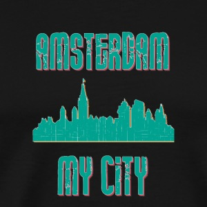 AMSTERDAM MY CITY - Premium-T-shirt herr