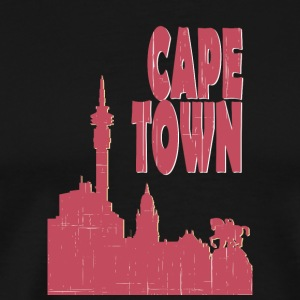 Cape Town City - Premium-T-shirt herr