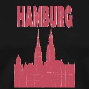 HAMBURG City - Premium-T-shirt herr