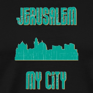 Jerusalem MY CITY - Premium-T-shirt herr