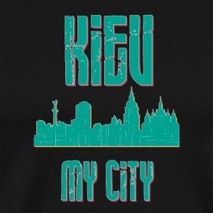 KIEV MY CITY - Premium-T-shirt herr