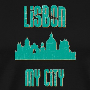 LISBON MY CITY - Premium-T-shirt herr
