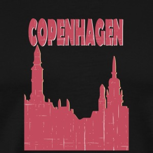 COPENHAGEN City - Men's Premium T-Shirt