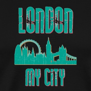 London MY CITY - Premium-T-shirt herr