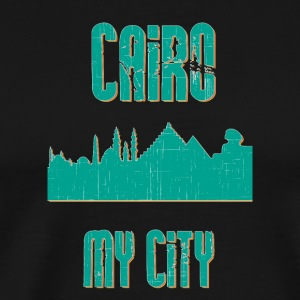 Kairo MY CITY - Premium-T-shirt herr