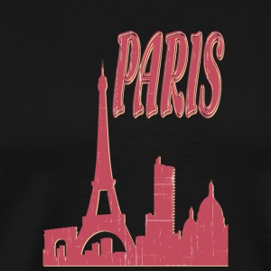 Paris city - Men's Premium T-Shirt
