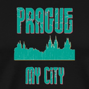 Prag MY CITY - Premium-T-shirt herr