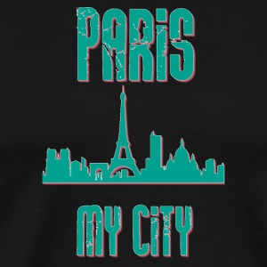Paris MY CITY - Premium-T-shirt herr