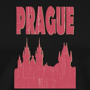 Prag City - Premium-T-shirt herr