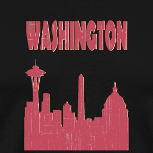 Washington City - Männer Premium T-Shirt